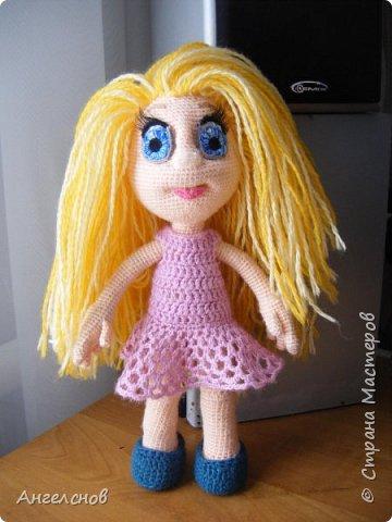 Вот такая куколка связалась для доченьки фото 1