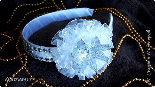 Новогодний ободок с короной для девочки. Видео мастер-класс