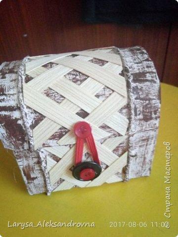 Сундучек для подарочка фото 2