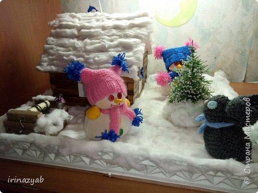 """Поделка в детский сад """"Зимняя сказка"""" фото 1"""