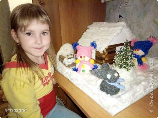 """Поделка в детский сад """"Зимняя сказка"""" фото 3"""