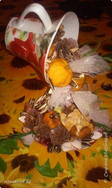 Поделка для осеннего праздника в школе.  фото 2
