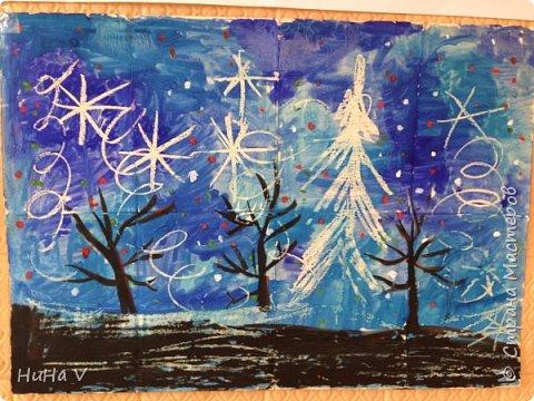 Коллективное рисование оказалось очень увлекательным творческим процессом! И дети и учителя получили массу положительных эмоций! фото 11