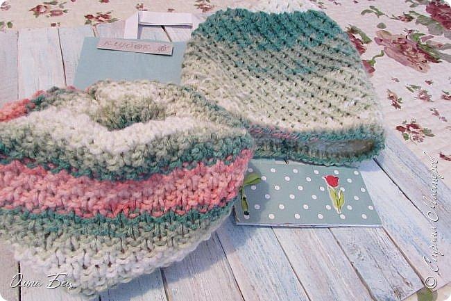 Доброго времени суток! В осенние и зимние холода так хочется закутаться в тёплый шарф, надеть тёплую вязаную шапочку ручной работы:) фото 7