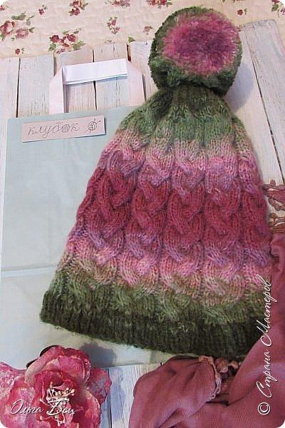 Доброго времени суток! В осенние и зимние холода так хочется закутаться в тёплый шарф, надеть тёплую вязаную шапочку ручной работы:) фото 12