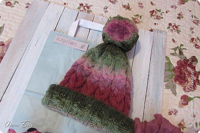 Доброго времени суток! В осенние и зимние холода так хочется закутаться в тёплый шарф, надеть тёплую вязаную шапочку ручной работы:) фото 8