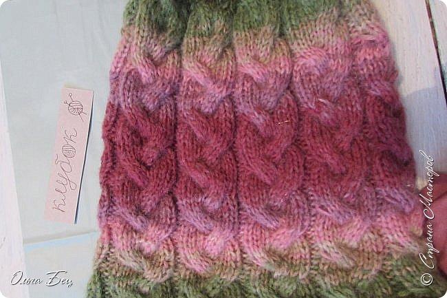 Доброго времени суток! В осенние и зимние холода так хочется закутаться в тёплый шарф, надеть тёплую вязаную шапочку ручной работы:) фото 11