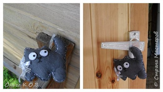 фетровые игрушечки на елку фото 7