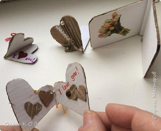 Открытки-самоделки из картона фото 24