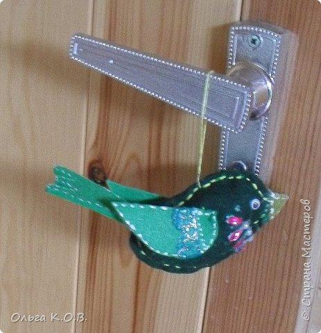 фетровые игрушечки на елку фото 8