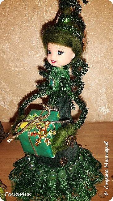 Всем жителям прекрасной страны доброго дня!!! Я к вам с куклой-елкой, увидела в интернете... решила повторить фото 6