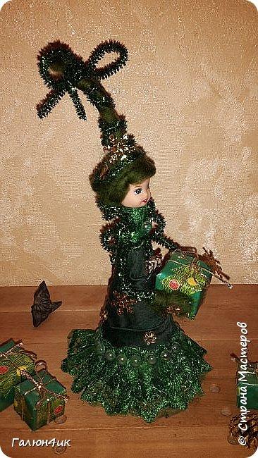 Всем жителям прекрасной страны доброго дня!!! Я к вам с куклой-елкой, увидела в интернете... решила повторить фото 5