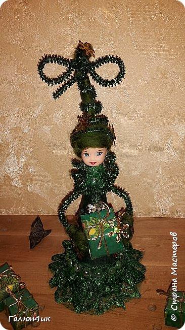 Всем жителям прекрасной страны доброго дня!!! Я к вам с куклой-елкой, увидела в интернете... решила повторить фото 2