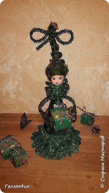 Всем жителям прекрасной страны доброго дня!!! Я к вам с куклой-елкой, увидела в интернете... решила повторить фото 7