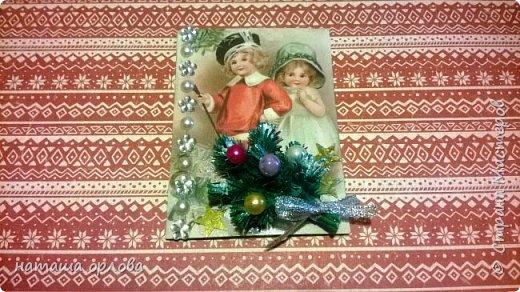 """Здравствуйте дорогие друзья! Сегодня хочу представить вашему вниманию новую четвёртую серию карточек АТС. Серия предновогодняя и назвала я её """"Новогодние хлопоты"""". В этой серии 10 карточек одна из них останется дома. Приглашаю всех желающих к выбору. Буду очень признательна за отзывы. фото 4"""