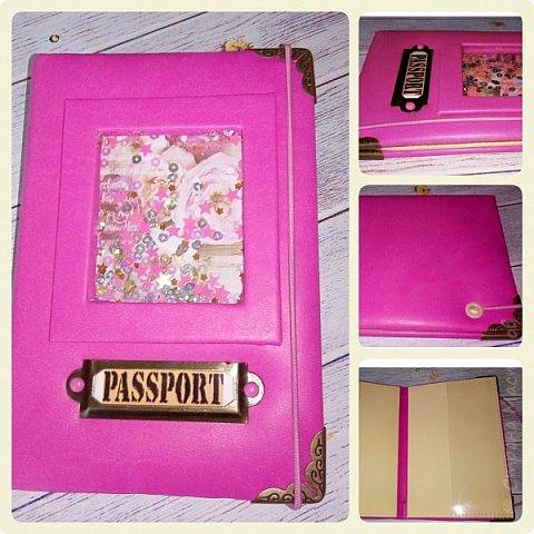 Обложки на паспорт ручной работы .. Сначала покажу из кожзама. фото 2