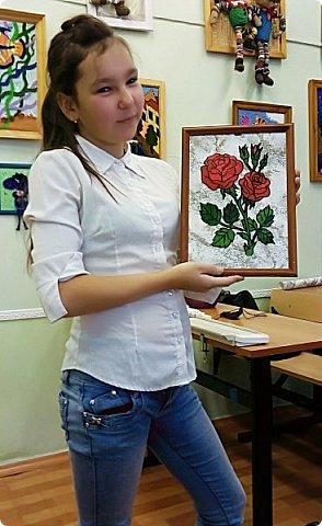 Новые картинки из пластилина. Работа моих учениц, коррекционная школа. фото 4