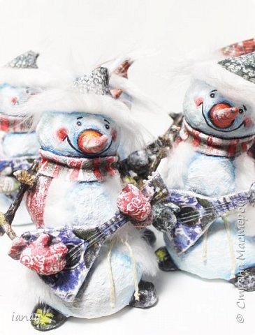 веселая компания снеговиков-вместе веселее! фото 2