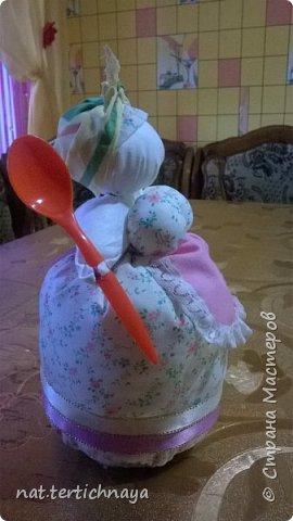 Вот такие хозяюшки на кухне появились у меня по описанию Олели, ссылка на страничку -      http://stranamasterov.ru/node/382529 фото 4