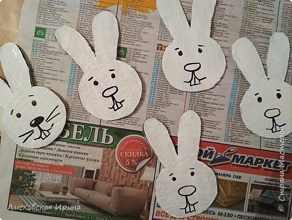 Сделали вместе с Машей игру. Крестики нолики заменили зайцами и морковкой фото 4
