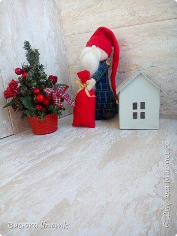 Здравствуйте дорогие соседи. Сегодня я к Вам со своими снеговиками и гномом по другой выкройке фото 7