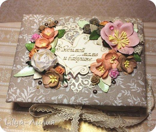 Такую нежную коробочку-шкатулочку заказали для мамы))  фото 3
