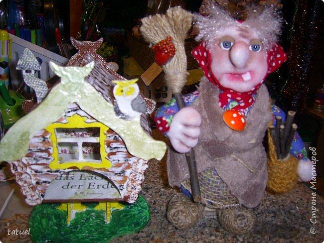 Всем привет! Сегодня у нас в гостях бабушка  из леса со своей избушкой на курьих ножках. У леса на опушке жила Яга в избушке.... фото 5