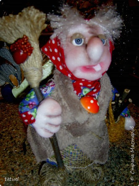 Всем привет! Сегодня у нас в гостях бабушка  из леса со своей избушкой на курьих ножках. У леса на опушке жила Яга в избушке.... фото 7