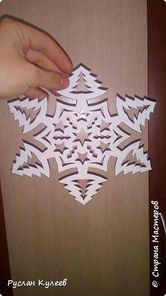 Снежинка на Новый год