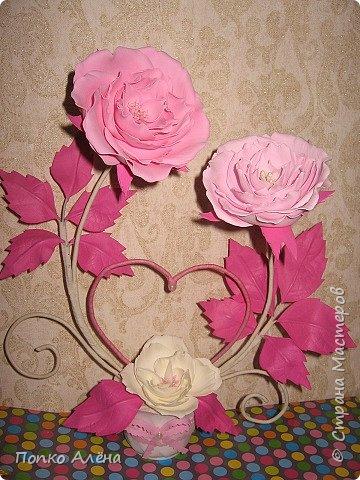 Здравствуйте, Мастера и мастерицы! Представляю Вам цветы из фоамирана.  Одуванчики. фото 15