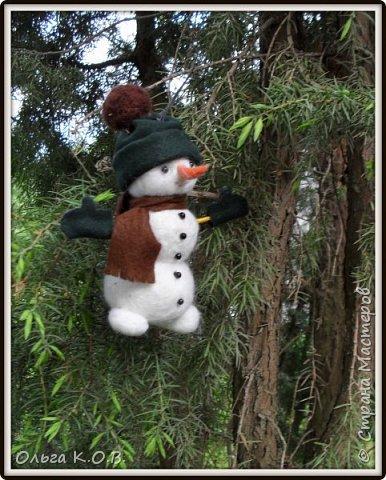 снеговики на елку фото 1