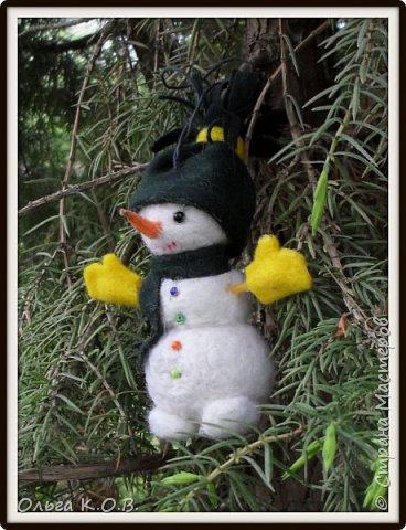 снеговики на елку фото 2