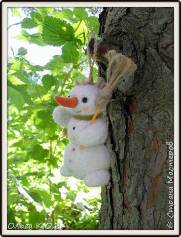 снеговики на елку фото 3