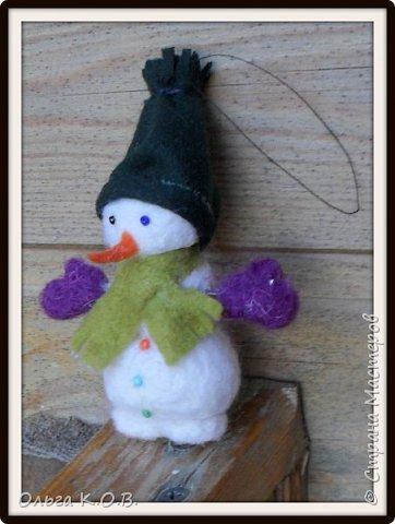 снеговики на елку фото 4