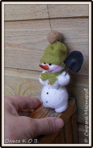 снеговики на елку фото 5