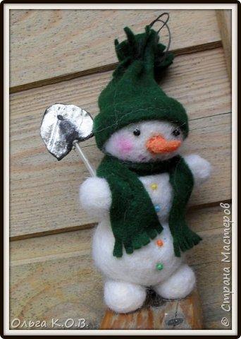 снеговики на елку фото 8