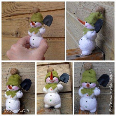 снеговики на елку фото 16
