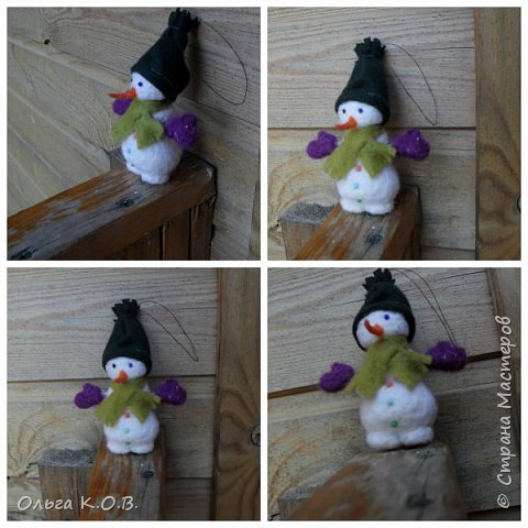 снеговики на елку фото 17