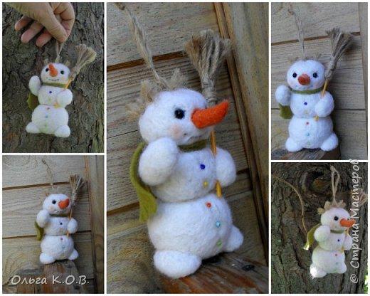 снеговики на елку фото 18