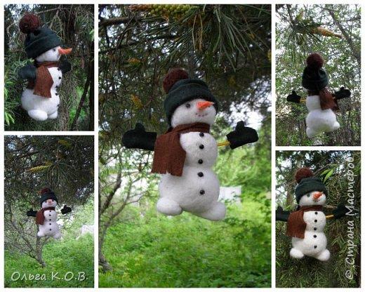 снеговики на елку фото 19