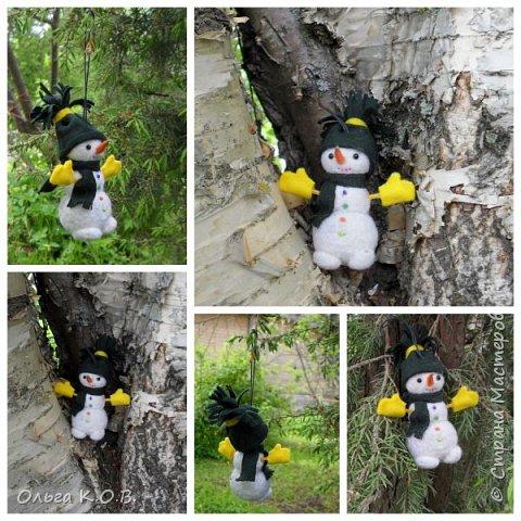 снеговики на елку фото 20