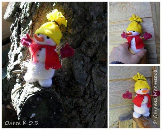 снеговики на елку фото 12