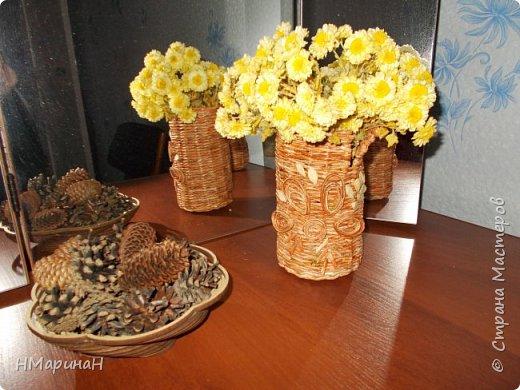 Добрый вечер Страна, вот, вазочки наплелись. фото 1