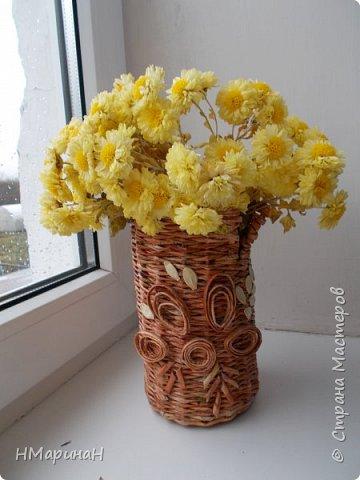 Добрый вечер Страна, вот, вазочки наплелись. фото 2