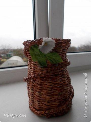 Добрый вечер Страна, вот, вазочки наплелись. фото 3
