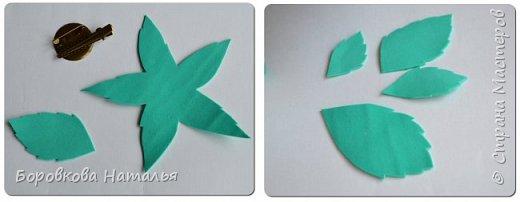 Создаем двухцветную розу «Инь-Янь» из фоамирана фото 32