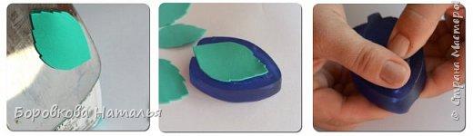Создаем двухцветную розу «Инь-Янь» из фоамирана фото 33