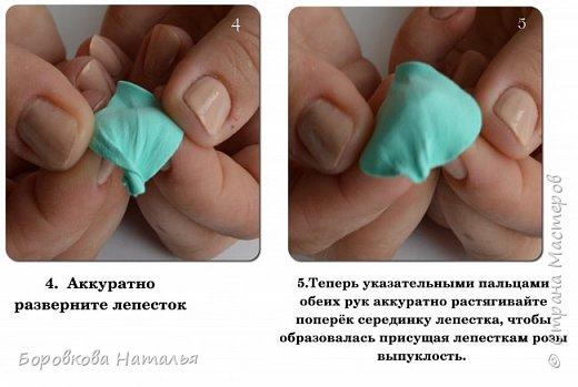Создаем двухцветную розу «Инь-Янь» из фоамирана фото 5