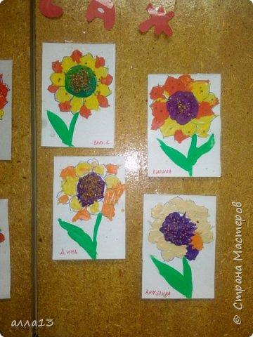 Летнее творчество  детьми младшей группы (3-4 года) фото 2