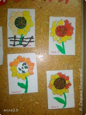 Летнее творчество  детьми младшей группы (3-4 года) фото 3